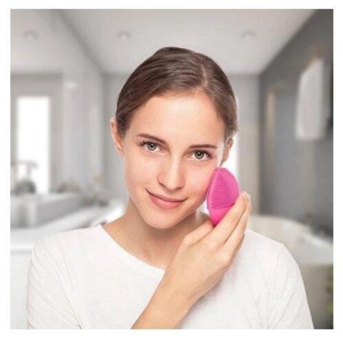 Forever Lina Mini Ultrasonic Facial Cleansing Brush Purple
