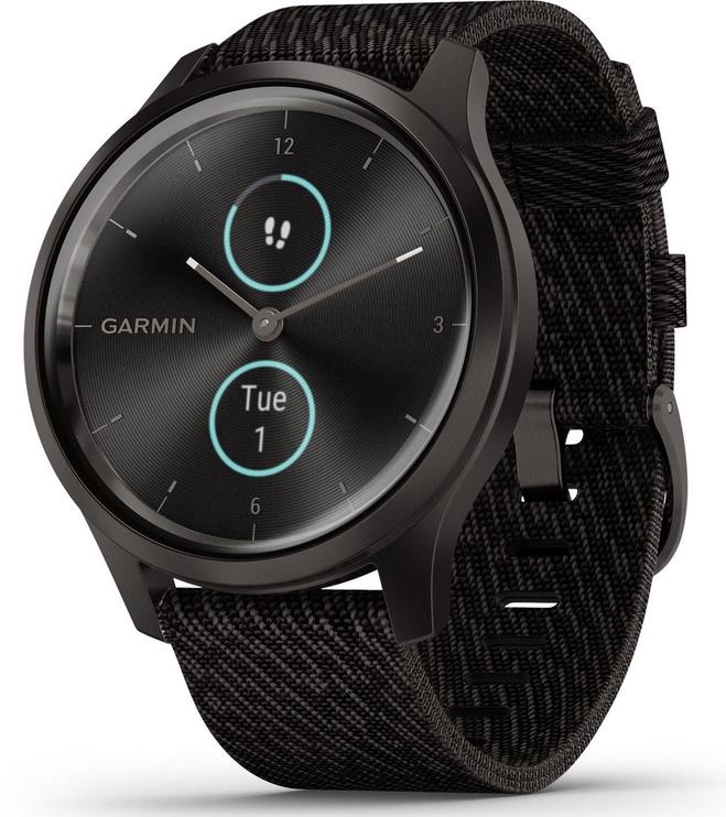 Garmin Vivomove 3 Style 42mm Nylon Graphite Black