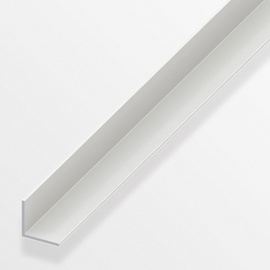 Nurk 20x20mm plastik valge 2m