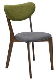 Стул для столовой Home4you Luxy Gray/Green 20892, 1 шт.