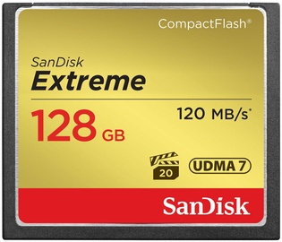 Sandisk Extreme Compact Flash 128 GB