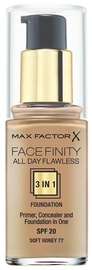 Max Factor Face Finity All Day Flawless 3in1 Foundation 30ml 77