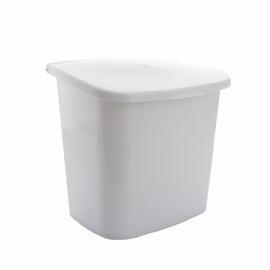 Atkritumu tvertne ar vāku Karo-Plast, 10l, balta