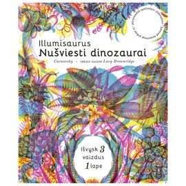Knyga illumisaurus: nušviesti dinozaurai