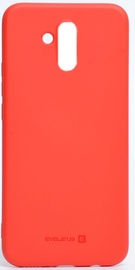 Evelatus Silicone Back Case For Huawei Mate 20 Lite Red