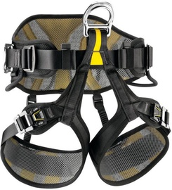 Petzl Avao Sit Fast Black/Yellow 2