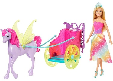 Mattel Barbie Dreamtopia Princess Doll With Fantasy Horse GJK53