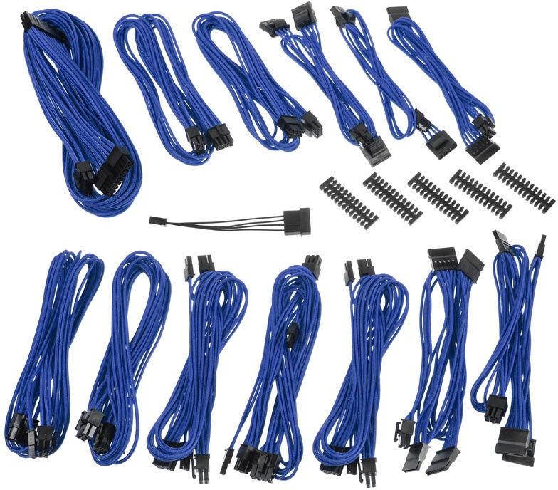 BitFenix Alchemy 2.0 SSC PSU Cable Kit Blue