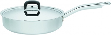 Fiskars Functional Form Saute Pan 26cm Stainless Steel for Induction Hobs
