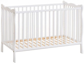 ASM Ala II Baby Cot White