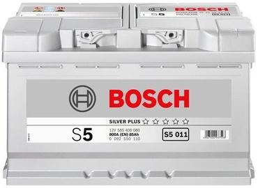 Аккумулятор Bosch, 12 В, 85 Ач, 800 а