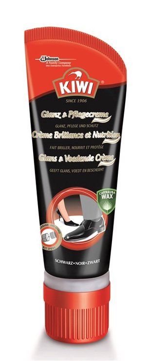 Kiwi Shine & Nourish Cream 75ml Black