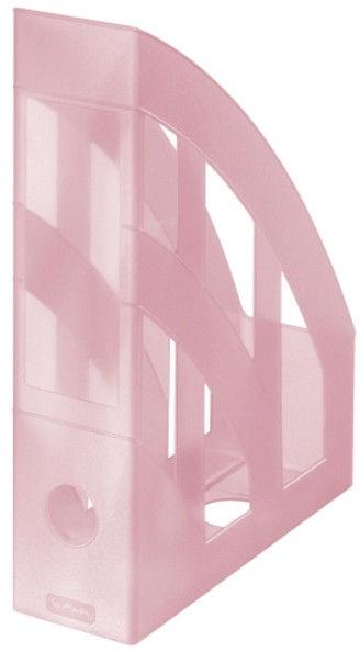 Herlitz Vertical Document Tray Pastel Pink