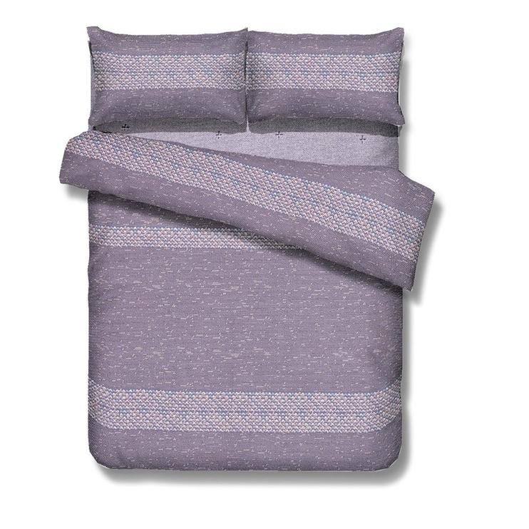 Gultas veļas komplekts Domoletti WS09 Purple, 200x220 cm/50x70 cm