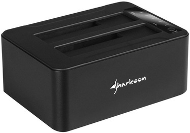 Sharkoon QuickPort Duo Clone USB 3.1 Type-C