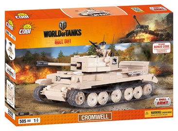 Cobi Small Army World Of Tanks Cromwell 3002