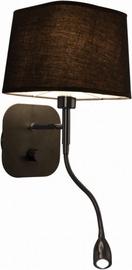 Light Prestige Marbella Wall Lamp 40W E14 Black
