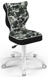 Entelo Childrens Chair Petit Size 4 White/Camo ST33