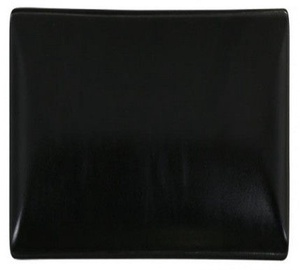 Viejo Valle Ming II Bread Plate 16 x 16cm Black