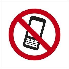 ZĪME AIZLIEGTS LIETOT MOB. TELEFONU D10