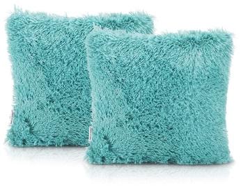 AmeliaHome Karvag Pillowcase 45x45 Blue 2pcs