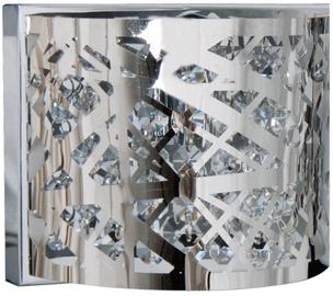 Light Prestige Kair 1 Wall Lamp 40W G9 Silver