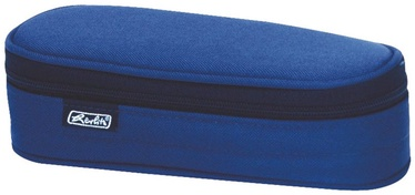 Penalas, Herlitz Pencil Pouch Oval Blue/11415916