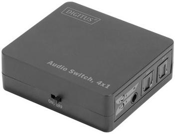 Digitus Audio Switch 4 x Toslink to 1 x Toslink w/ Remote Control