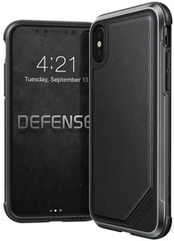 X-Doria Defence Lux Leather Case For Apple iPhone X Black