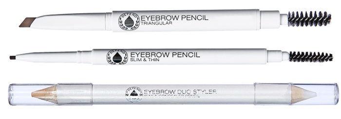 Uzacu zīmulis Depend Slim & Thin Ebony, 0.05 g