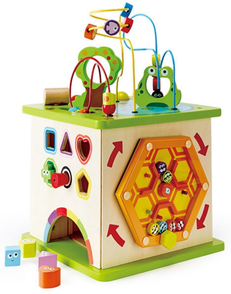 Hape Country Critters Play Cube E1810