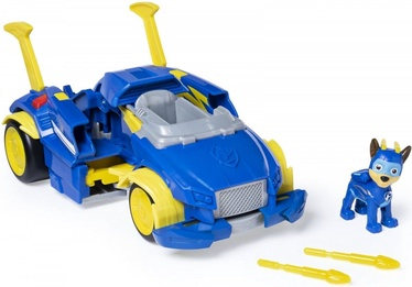 Spin Master Paw Patrol Mighty Pups Super Paws Chases Powered Up Cruiser