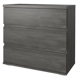 Idzczak Meble Fabio 3S Chest Of Drawers Black