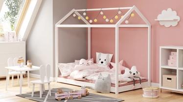 Детская кровать Halmar Yogi, белый, 165x88 см
