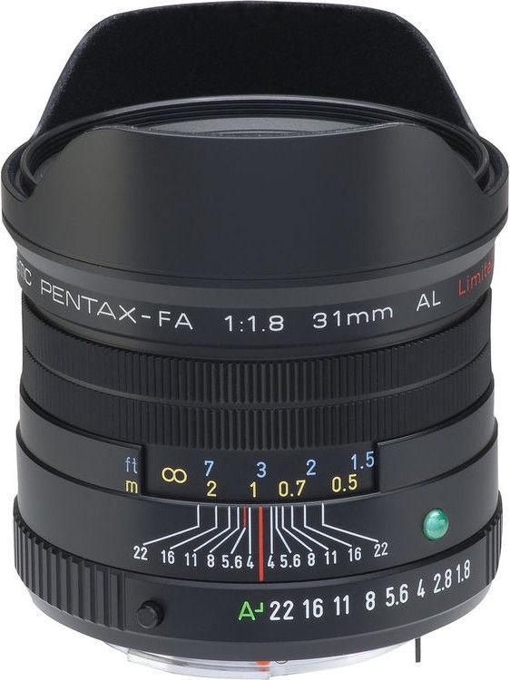 e61d3bf8b42 Pentax FA 31mm f/1.8 AL Limited Black