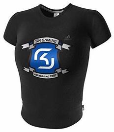 Adidas SK Gaming Logo Ladies Top Black M