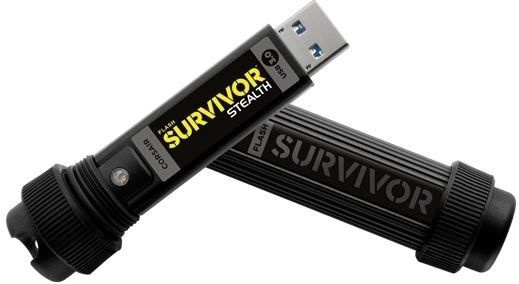 USB atmintinė Corsair Survivor Stealth, USB 3.0, 32 GB