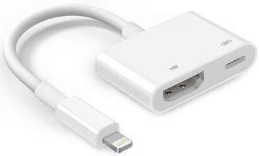 RoGer Adapter Apple Lightning to HDMI White