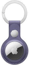 Аксессуары для AirTag Apple Leather Key Ring - Wisteria, фиолетовый
