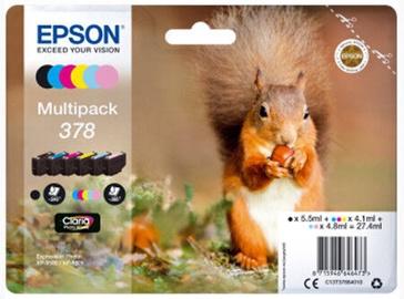 Кассета для принтера Epson 378 Claria, многоцветный, 27.4 мл