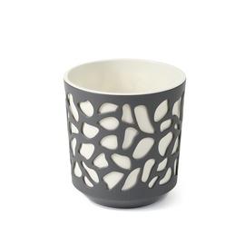 Вазон SN Duet Indoor Plant Pot 29x32cm Grey White