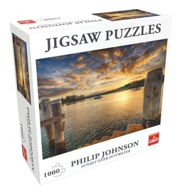 Goliath Jigsaw Puzzles Sunset Over Pittwater 1000pcs