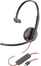 Ausinės Plantronics BlackWire C3210 USB-C 209748-101