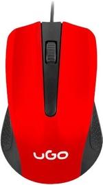 UGO UMY-1214 Optical Mouse Red/Black