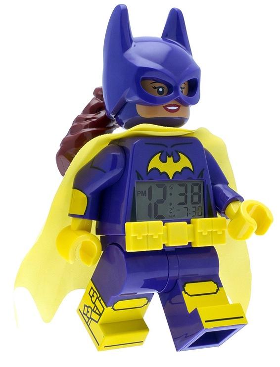 ClicTime LEGO Minifigure Alarm Clock Batgirl