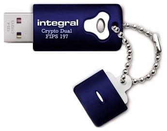 USB atmintinė Integral Crypto Dual Fips 197, USB 2.0, 64 GB