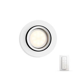 Išmanusis šviestuvas Philips Milliskin Hue, baltas 1 x 5.5W 230V