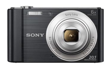Fotoaparatas Sony DSC-W810B, juodas