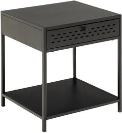 Kosmētikas galds Actona Newcastle AC91483, melna, 45x40x51 cm