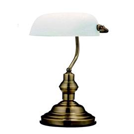 Galda lampa Globo Antique 60W E27, balta